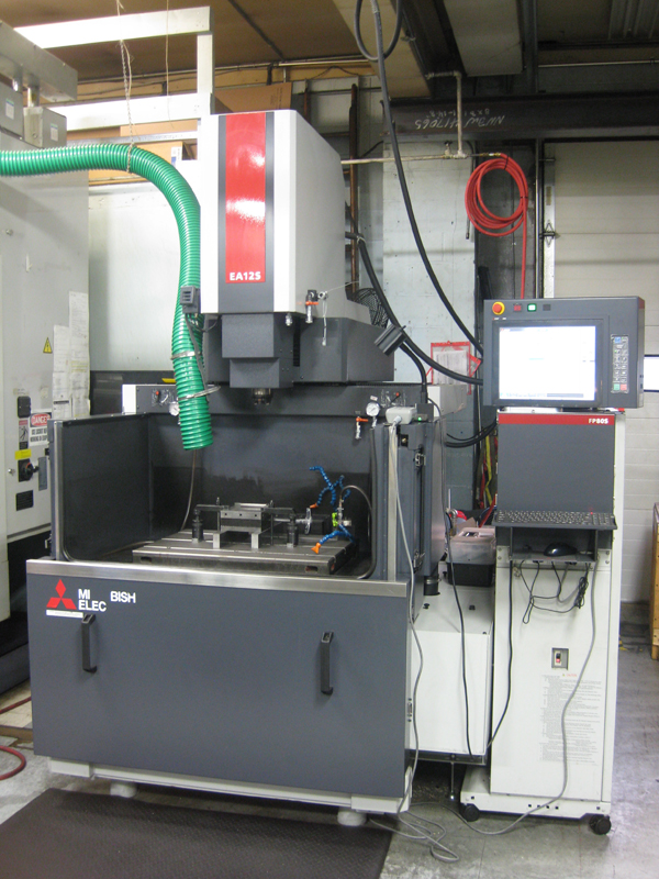 Electrical Discharge Machining (EDM) Services - Dover, New Jersey